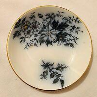 """VINTAGE Flow Blue Berry Bowl-""""Society Ceramique Maestrlicht""""Made In Holland"""