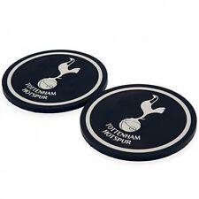 Tottenham Hotspur Club de Fútbol Conjunto 2 Goma Bebidas Tapetes / Coasters (