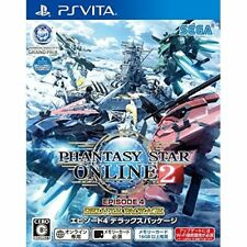 Used PS Vita PHANTASY STAR ONLINE 2 EP4 DELUX PACKAGE Japan Import