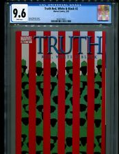 TRUTH RED, WHITE & BLACK 2 CGC 9.6 W V1! ISIAH BRADLEY CAPTAIN AMERICA! DISNEY+!