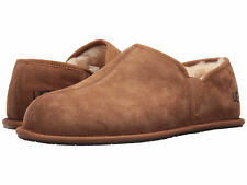 Men UGG Scuff Romeo II Suede Slipper 5650 Chestnut Twinface 100% Authentic New