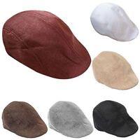 Trendy Hat Summer Stylish Outdoors Modern Fashion Peaked Cap Flax Beret Cabbie