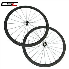 Ceramic Bearing Hubs 38mm Clincher Carbon bike road wheelset 1320g only