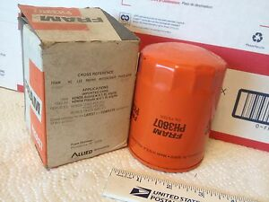 Honda oil filter, FRAM PH3807, NOS.   Item:  3565