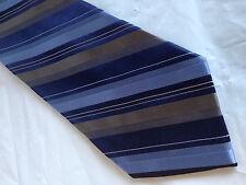 Mens Blue Brown SILK Tie Necktie AXIST ~ FREE US SHIP (8003)