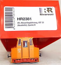 Akkuschleppfahrzeug ASF 28 NEUSTRELITZ Ep4 Rivarossi HR2381 NEU H0 1:87 HD3 µ√