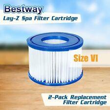 NEW BestWay Coleman Spa Filter Pump Replacement Cartridge Type VI 58323