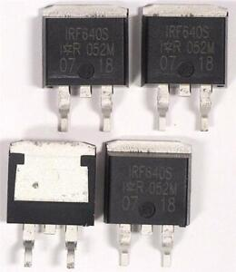 25 x IRF640SPBF MOSFET Transistor 18A 200V  N-chan TO-263 D2PAK  by IR/Infinion