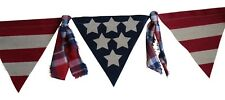 USA Flag Banner Patriotic Decoration Stars and Stripes