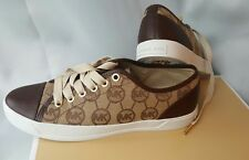 MICHAEL KORS MK CITY Signature Logo Sneakers Shoes Womens Size 7