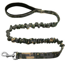6ft Bungee Dog Leash No-pull Army Tactical Elastic Walking Leads for Large Dogs