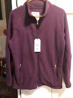 NWT Pine Trails Polar Fleece Zip Jacket-L(Retails 49.99)