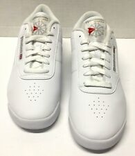 Reebok Classic Princess Walking Shoes Sneakers White Lace Up Womens Size 10 Us