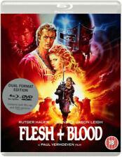 Flesh and Blood Blu-ray DVD Region 2