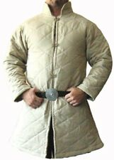 Halloween Medieval Celtic Viking Armor Padded Gambeson Long Sleeve with Collar