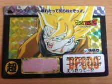Carte Dragon Ball Z DBZ Carddass Hondan Part 11 #421 Prisme 1992 MADE IN JAPAN