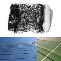 Official Size Volleyball Net Beach Indoor Outdoor Netting with Steel Cable