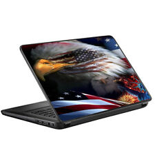Skins for HP 2000 Laptop Decals wrap - USA Bald Eagle in Flag