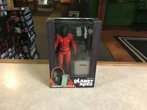 """2015 NECA Planet of the Apes CONQUEST GORILLA SDCC Exclusive 7"""" Inch Figure MOC"""