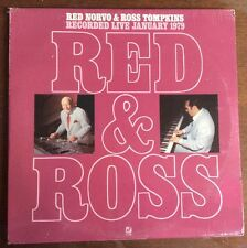 SEALED! Red Norvo & Ross Tompkins 1979 Concord Jazz LP vinyl record S/S - CJ-90