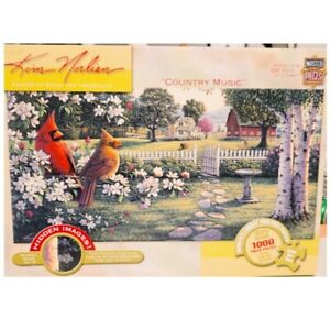 MasterPieces Kim Norlien Country Music Hidden Images Red Birds 1000 Pc Puzzle