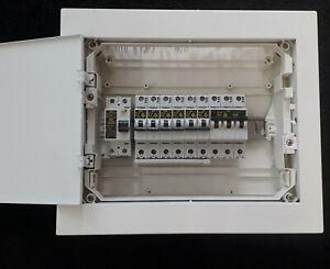 Unterverteilung Sicherungskasten Stromkasten Unterputzverteiler