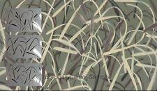 "Camo Wetland Cattail Marshland 3pc kit (3) 12""x9""stencils.Camouflage, Duckboat"