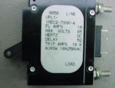 15 Amp Dc Breaker 65Vdcmax airpax