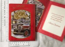 Single Uncle & Aunt, Auntie Uncle Christmas Cards In Over 20 Designs
