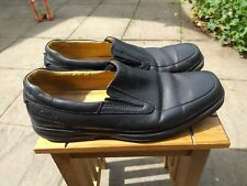 Mens Clarks Active Air Black Slip On Shoes Size 11 Extra Wide
