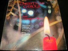 Christmas Carols From Westminster Abbey - Vinyl Record Album - MFP1410 - 1968