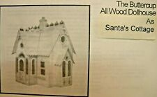 1995 Corona Concepts Dollhouse Kit THE BUTTERCUP AS SANTA'S WORKSHOP #552496