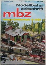 MBZ Modellbahn Zeitschrift Messe Sonderheft 2 1986 Ratgeber Fotos Tipps Info