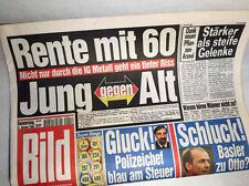 Bildzeitung vom 21.10.1999 Geschenk 17. 18. 19. 20. Geburtstag Taufe RAR