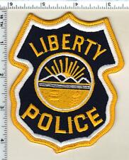 Liberty Police (Ohio) Shoulder Patch from 1996