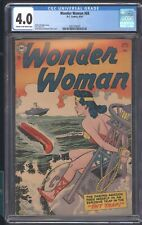 WONDER WOMAN 68 8/54 CGC 4.0 ROBERT KANIGHER