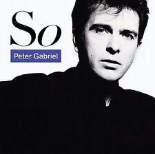 So by Peter Gabriel CD May 1986 Geffen