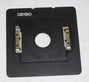 """Calumet / Cambo 4x5 Lens Board ~ Accepts 4""""x 4"""" Lensboard"""