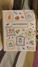 Pokemon canvas sketchbook charmander cyndaquil mudkip