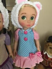 Disney animator Doll Clothes Sweet pink-blue Bear Dress Animator's collection