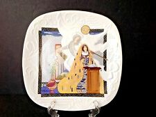 Vintage 1988 Edwin M. Knowles The Annunciation By Eve Licea 9-1/2'' Square Plate