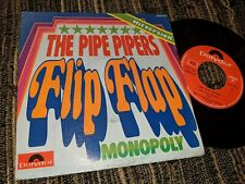 """THE PIPE PIPERS FLIP-FLAP/MONOPOLY 7"""" SINGLE 1973 POLYDOR SPAIN"""