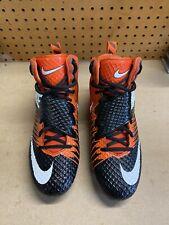 Nike Lunarbeast Strike Pro Orange/Black Football Cleats Size 10