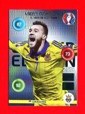 EURO FRANCE 2016 - Adrenalyn Panini - Card Limited Edition - YARMOLENKO -UKRAINE