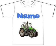 T-shirts, débardeurs et chemises verte avec des motifs Personnalisé pour garçon de 2 à 16 ans