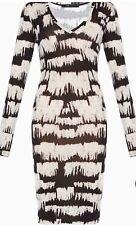 BCBGMaxAzria Tori Long Sleeve Knit Dress Sz S $138