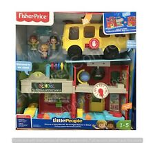 Fisher Price Little People Welcome To School Gift Set Toddler Toys
