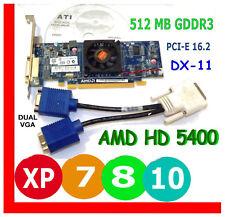 WINDOWS 10 HP dx2400 dc5750/7700/5850/6000 Video Card PCI-E Dual VGA Std-Profile