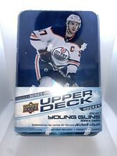 2020-21 Upper Deck Series 1 NHL Hockey Collector's Tin Young Guns Factory sealed