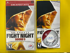 EA Sports: Fight Night Round 3 (Sony PSP, 2006) PSP - CIB - Complete - Tested
